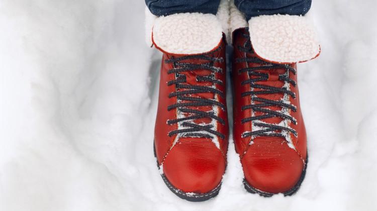 Fußpflege im Winter