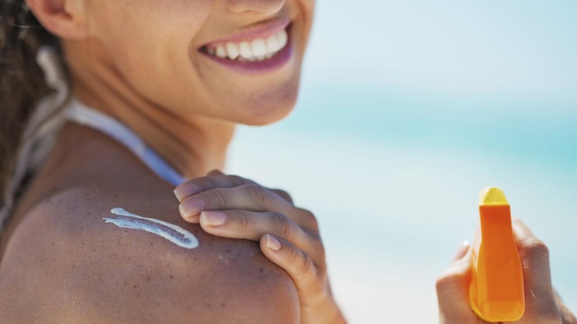 Nanomaterial in Sonnenschutz ist sicher